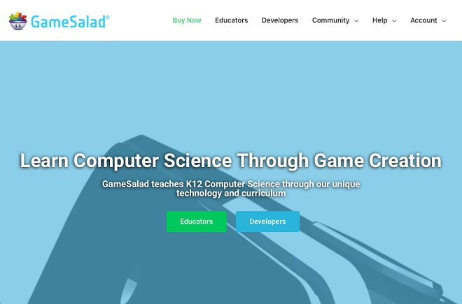 Gamesalad app maker screenshot