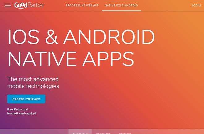 GoodBarber app maker